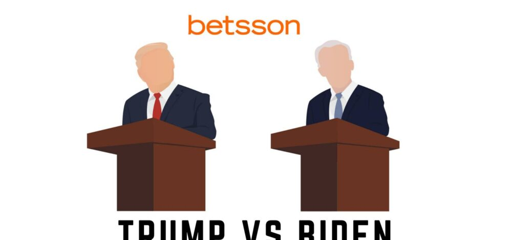 trump vs biden vedonlyönti